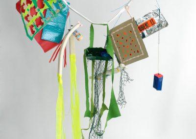A garland made by a participant, 2007. Foto: Dido Braxivanidis