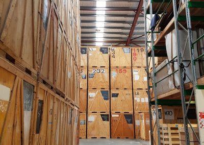 Temporary storage for overseas movers, 2018. Foto: Yuka Oyama