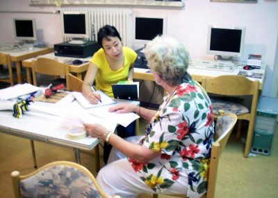 Yuka interview process, 2008. Foto: Erin Tin A. Ton