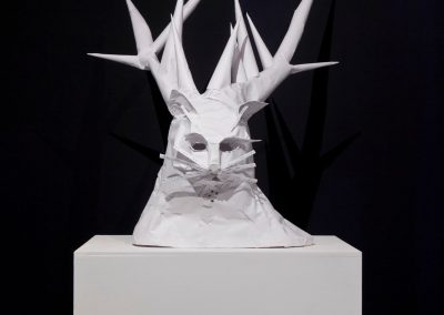 Metamorphic Spirit, exibition view, Derridas Katze, Kunstraum Kreuzberg, Berlin, 2010. Foto: Thomas Bruns